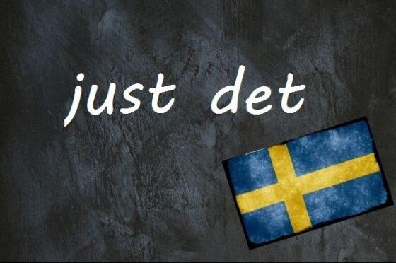 Schwedisches Fachwort Des Tages: Planar Det